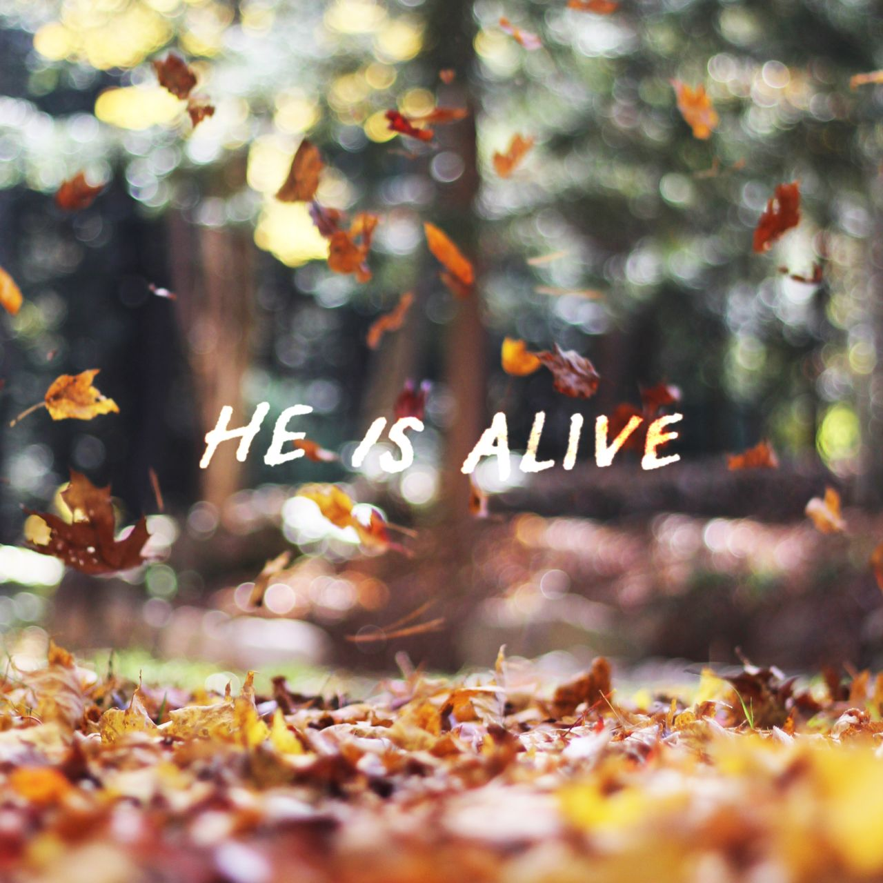 He Is Alive Cover